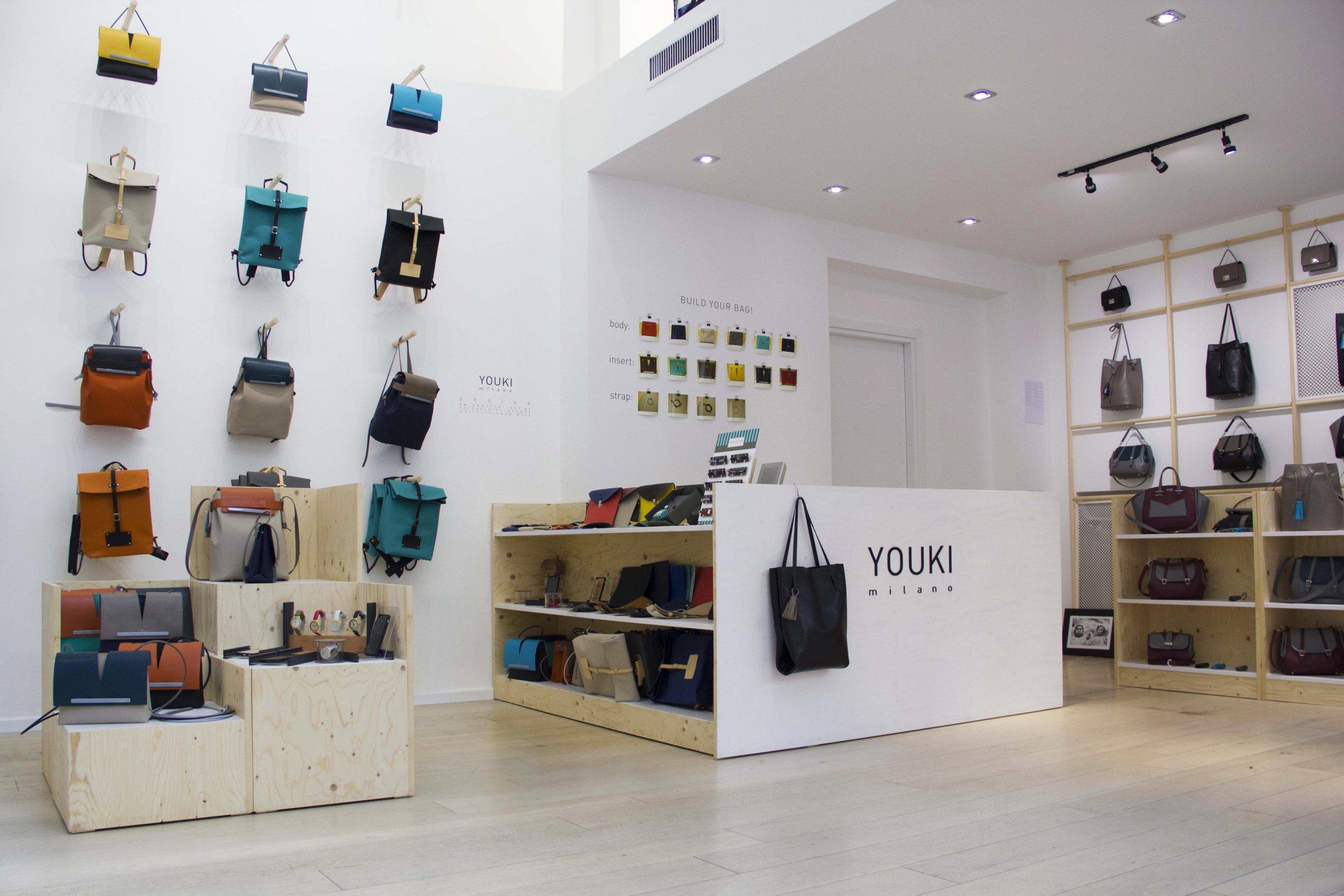 Youki Store - allestimenti Milano a
