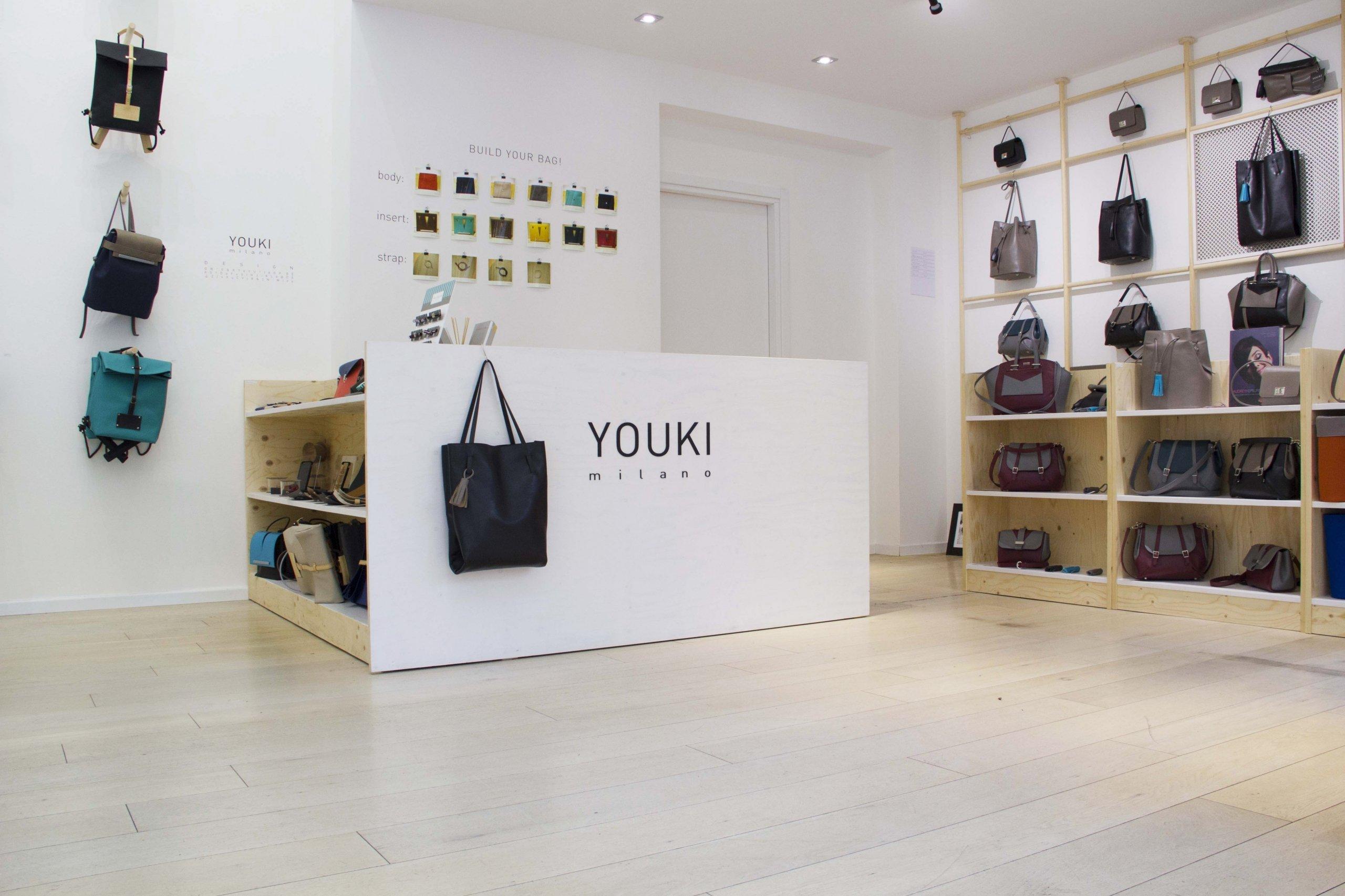 Youki Store - allestimenti Milano c