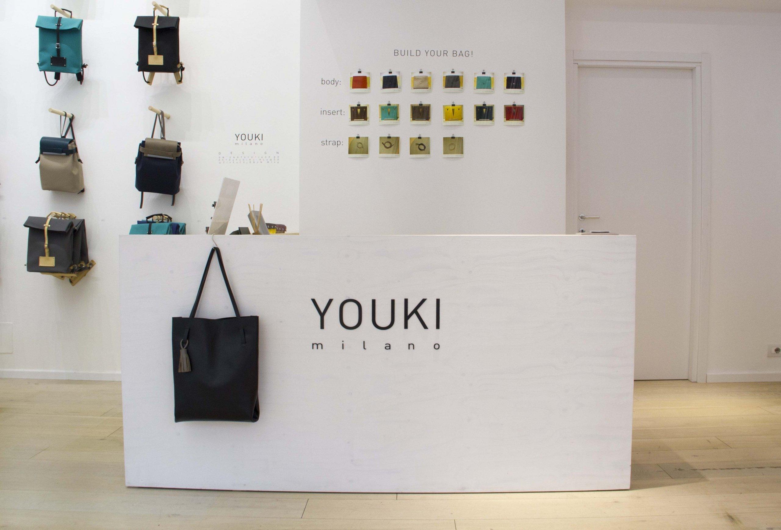 Youki Store - allestimenti Milano g