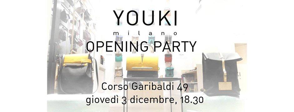 Youki Opening Milano progetto LASCIAlaSCIA