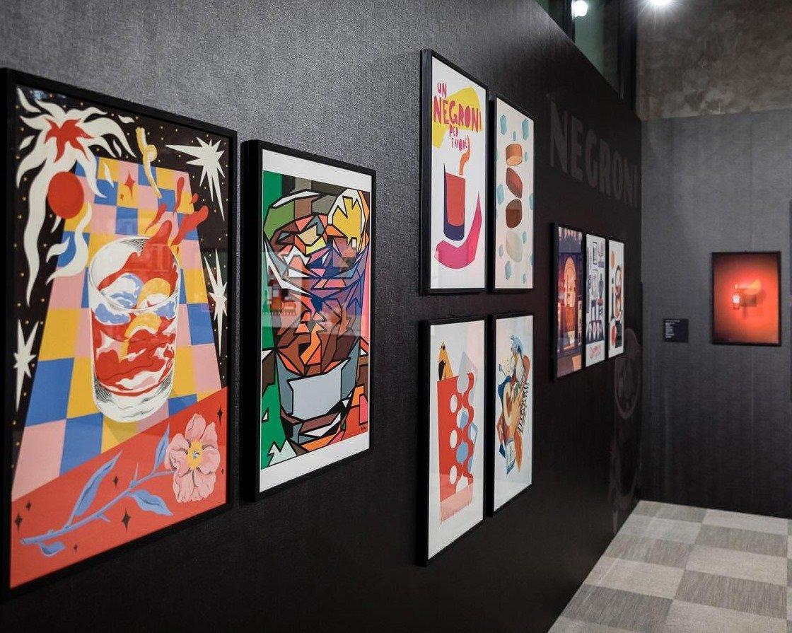 n100-negroni-galleria-campari-milano-100-anni-arte-ied